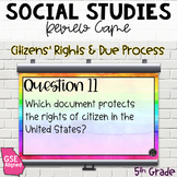 Citizens' Rights and Due Process Review Game (SS5CG1)