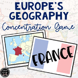 Geography in Europe Game (SS6G7, SS6G7a, SS6G7b)