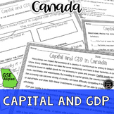 Investments in Capital & GDP Reading Activity (SS6E6, SS6E6c)
