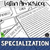 Specialization Latin America Reading & Writing Activity (S