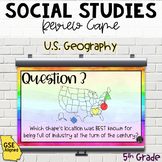 $1 FOR 24 HRS! U.S. Geography Review Game (SS5G1, SS5G2)