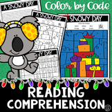 Reading Color by Code Packet | HOLIDAY Theme