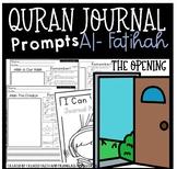 Quran Journal Prompts- Al Fatihah