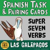 Spanish Super Seven Verbs in Present Tense. Spanish Conver