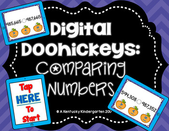 Digital Doohickeys: 4th Grade Comparing Numbers FALL THEME