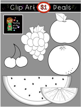 $1 Fruit Clip Art Dollar Deal 8