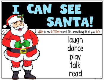 $1 CHRISTMAS DEAL! {Santa Emergent Reader} for Kindergarten & First Grade