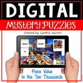 Digital Mystery Puzzles Place Value Numbers in the Ten Thousands