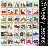 PreK Kindergarten Curriculum Bundle - 36 Weekly Thematic Units