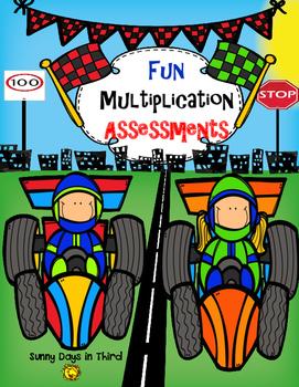 MULTIPLICATION ASSESSMENTS FUN RACES