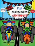 MULTIPLICATION ASSESSMENTS FUN RACES
