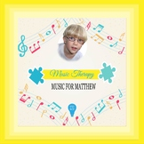 $1 Music For Matthew Digital Paper