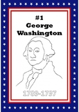 #1 President George Washington