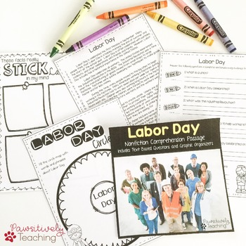 Labor Day Reading Passages - Nonfiction Text & Questions
