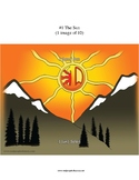 #1 The Sun, Numbers, Animals, First Nations, Indigenous, Aboriginal