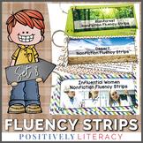 Fluency Strips ~ Fluency Practice for 2nd & 3rd Grades Set 8