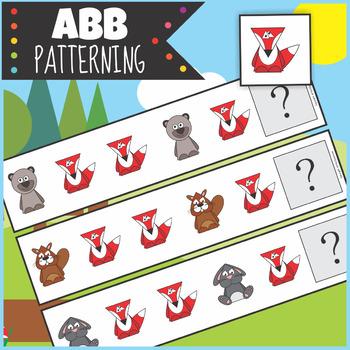 Woodland Animals ABB Patterning Activity