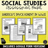 America in World War 2 Assessment & Study Guide (SS5H4)