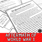 Aftermath of World War I Reading Activity (SS6H3, SS6H3a)