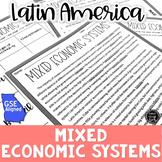 Economic Systems in Latin America Reading Activity (SS6E1b