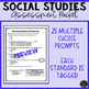 Great Depression & New Deal Assessment & Study Guide (SS5H3)