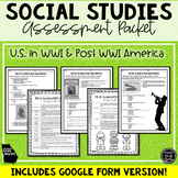 US in WWI and Post-WWI America Assessment & Study Guide (SS5H2)