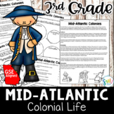 Mid-Atlantic Colonies Reading Activity Packet (SS3H3)