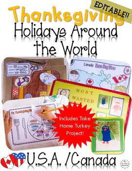 Thanksgiving Activities Holidays Around The World U.S.A & Canada