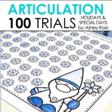 100 Articulation Trials In Speech Therapy - Holidays Seasons and Events