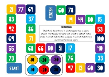 -10,-20,-30 subtraction game