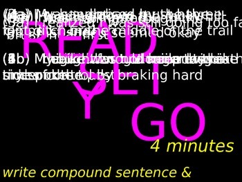 #10 Compound Sentence Assessment