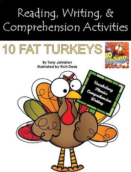 """""""10 Fat Turkeys"""" Activities for Guided Reading & Writing"""