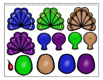 """10 Fat Turkeys"" Toddler Curriculum"