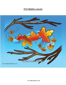 #10 Leaves, First Nations, Numbers