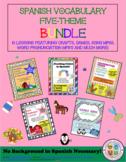 ¡10-Lesson, Spanish Class Bundle!