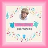 $10 Music For Matthew Digital Paper