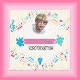 $10 Music For Matthew Digital Paper