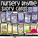 (10) NURSERY RHYMES STORY CARDS- SMARTY TASK CARDS