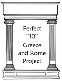 """10"" Point Greece and Rome Project!!"