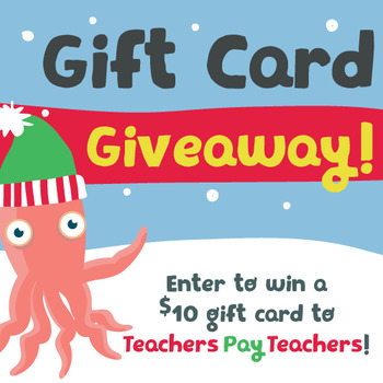 $10 TPT Gift Card Giveaway!