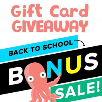 $10 TPT Gift Card Giveaway – BONUS SALE Aug 2017