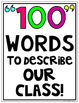 100th Day of School For Big Kids {100 Words}