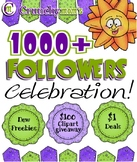 ♥♥♥ 1000 Follower CELEBRATION!!! ♥♥♥