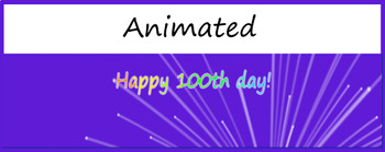 Google Classroom Animated Headers (100th Day)