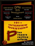 """""""101 INTERVIEW QUESTIONS"""" -- STAGE #4 - """"Mock Interview Day Activity"""""""