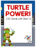 FREE! Turtle Power - CVC Words with Short A