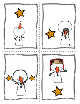 FREE! Where is Snowman? -Spatial Concepts