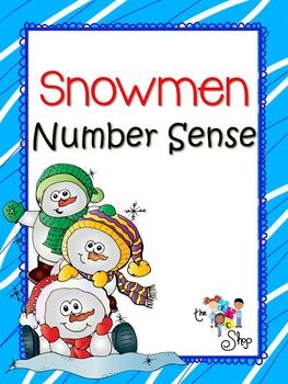 FREE! Snowmen Number Sense