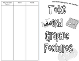 FREE! Text and Graphic Features Activity Mini Book