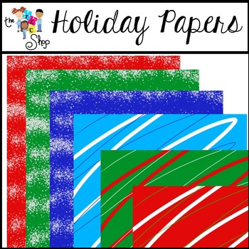 FREE! Holiday Papers